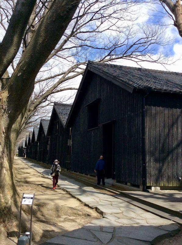 昭和の香り漂う街、山形県酒田市へ植え込みの仕事に行ってきました〜♪